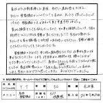 お客様の声2012.10.4Y.T様