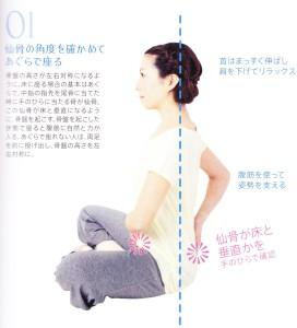 ブログ 腹筋 座位 001