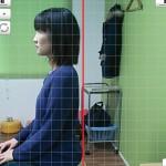 新井恵美さん座位側面施術前